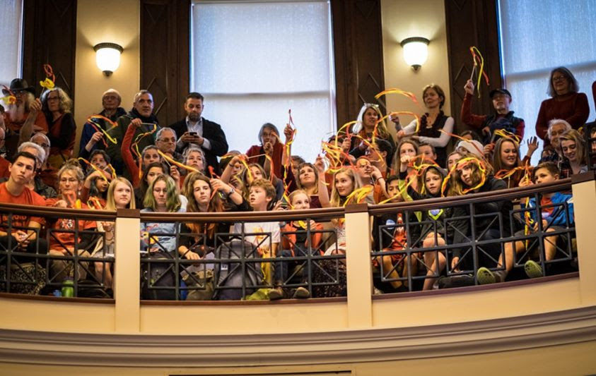 Students testify before Portland City Council Fossil Fuel Storage Ban hearing